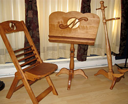 Chaise et lutrin